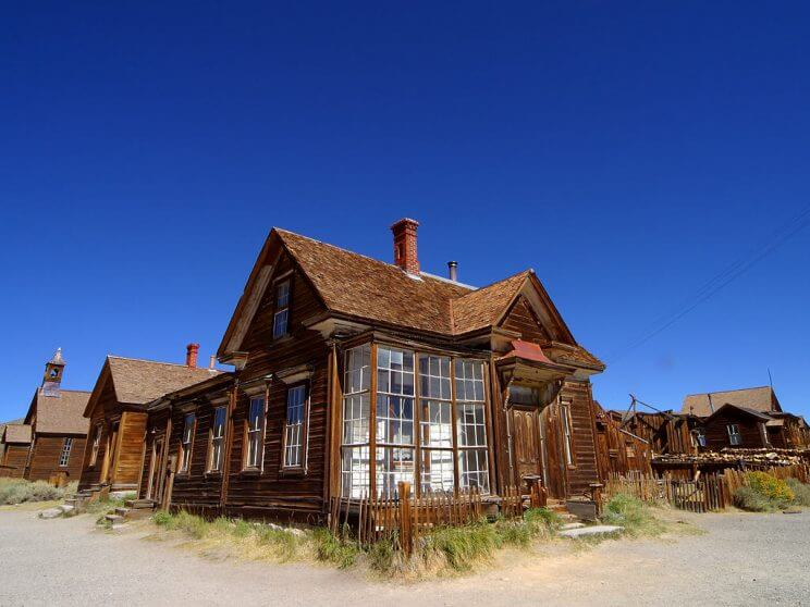 Bodie California 744x558, United States Ghost Towns