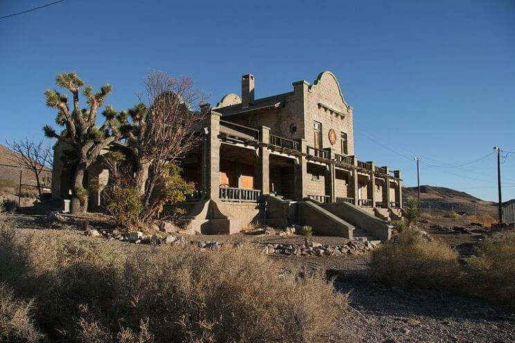 Rhyolite Nevada 744x496, United States Ghost Towns